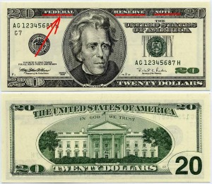 158 - federal reserve note