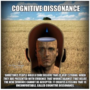 182 - cognitive dissonance