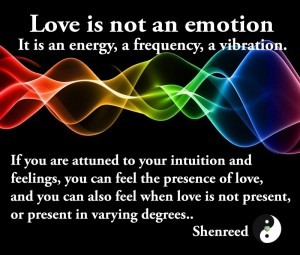 LOve is not an emotion