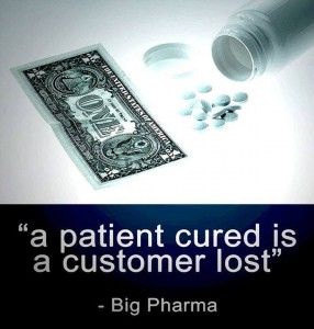 A parient cured is a customer lost