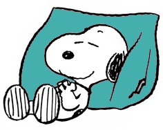 Charlie Brown nap