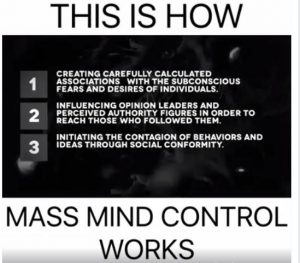 says 194 - How mass mind control works