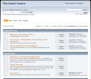 says 196 heart centre forum