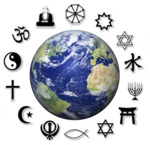 says 198 - Religions around teh world
